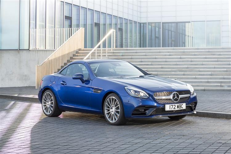 New Mercedes-Benz SLC review