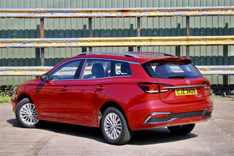 MG MOTOR UK MG5 ELECTRIC ESTATE 115kW Excite EV 53kWh 5dr Auto