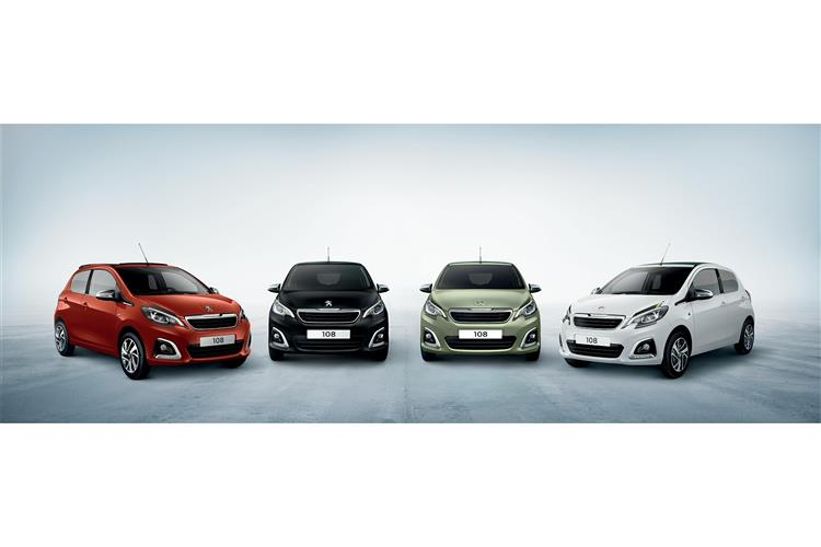 Peugeot 108 1.0 72 Collection 5dr image 2