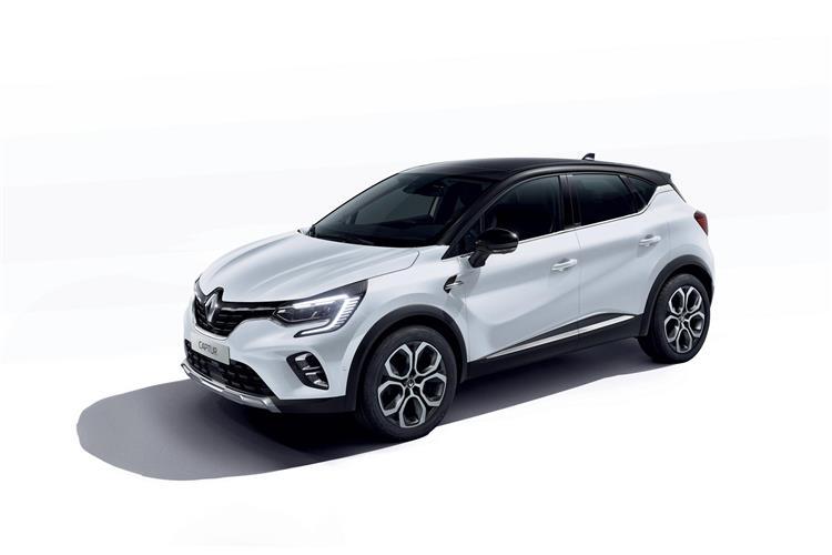 Renault Captur 1.6 E-TECH Hybrid 145 R.S.Line 5dr Auto Hybrid Hatchback