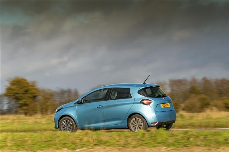 RENAULT ZOE 80kW Iconic R110 50kWh Rapid Charge 5dr Auto