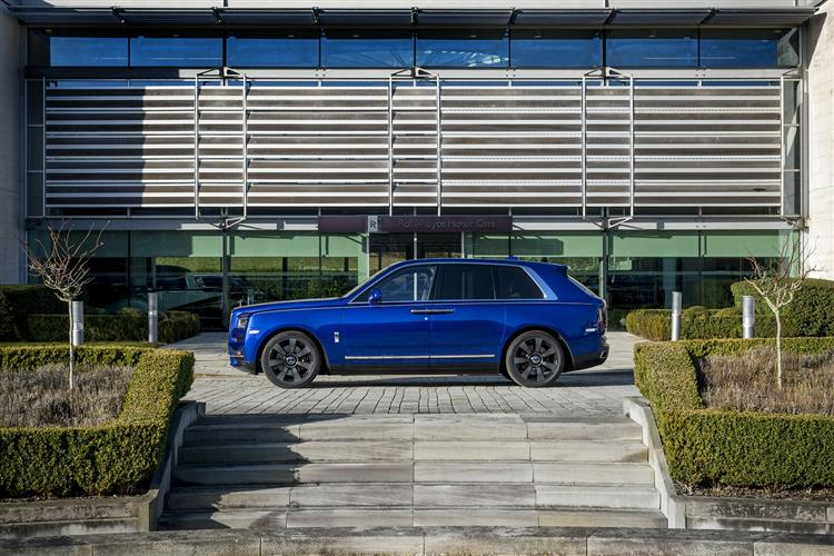 Rolls-Royce Cullinan - Takes the world in its stride image 1