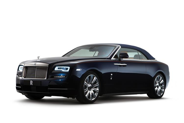 Rolls-Royce Black Badge Dawn - The latest convert to the dark side image 1
