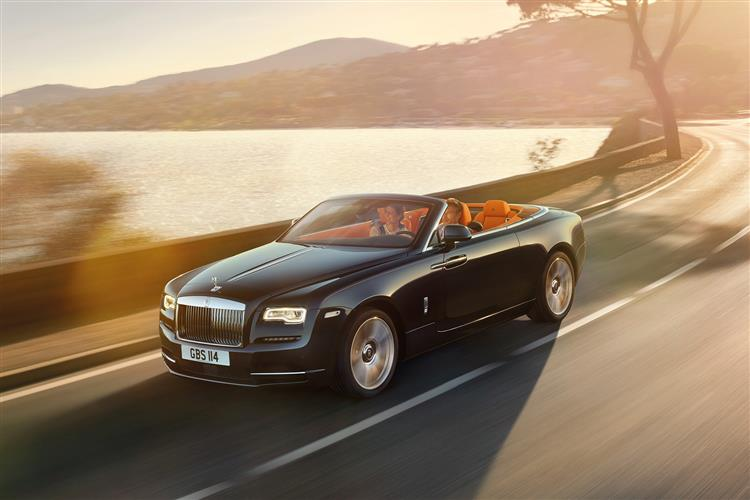 Rolls-Royce Black Badge Dawn - The latest convert to the dark side image 7