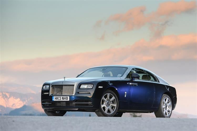 Rolls-Royce Black Badge Wraith - A dynamic Rolls-Royce that powers into the dark image 2