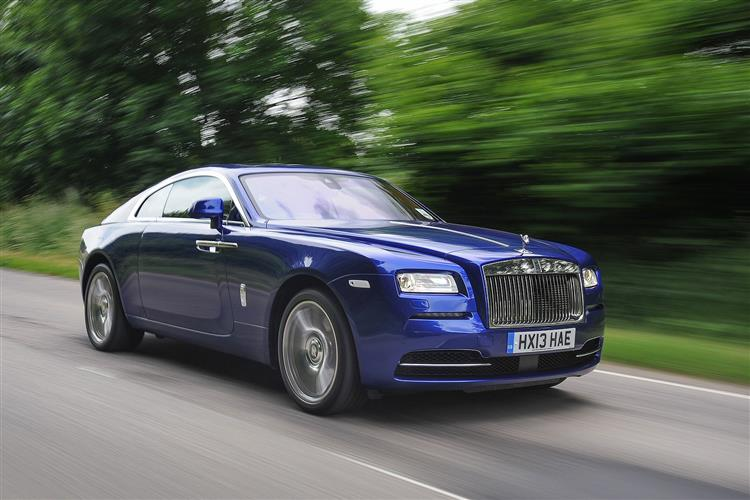 Rolls-Royce Black Badge Wraith - A dynamic Rolls-Royce that powers into the dark image 6