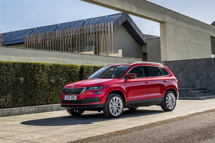 new skoda karoq 1 6 tdi se l 5dr diesel estate motability vehicle for sale bristol street. Black Bedroom Furniture Sets. Home Design Ideas