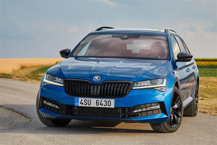 Skoda SUPERB 2.0 TDI CR SE L 5dr DSG