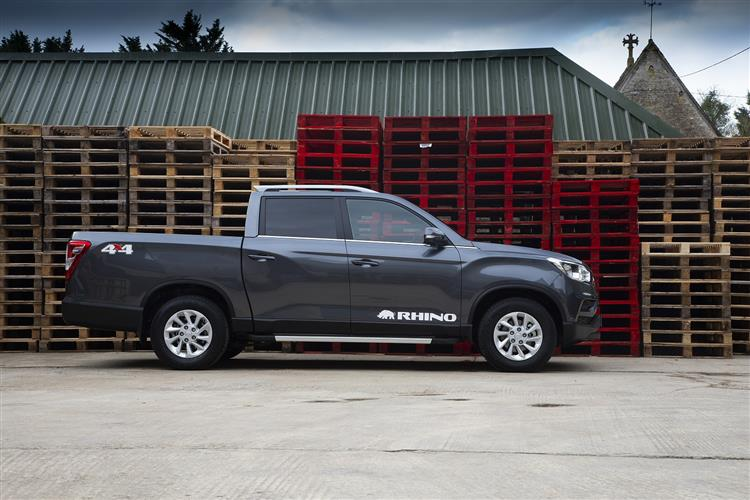 SSANGYONG MUSSO DIESEL