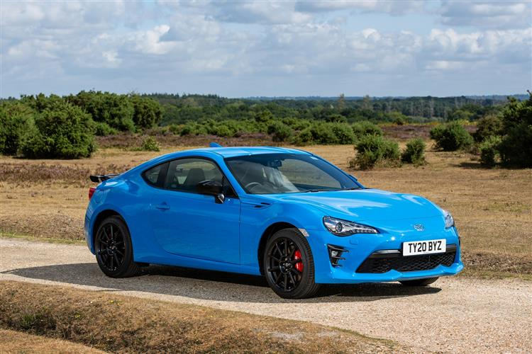 TOYOTA GT86 COUPE SPECIAL EDITION 2.0 D-4S Blue Edition 2dr Auto [Performance Pack]
