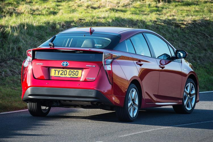 Toyota Prius 1.8 PHEV Business Edition Plus 5dr CVT Hatchback