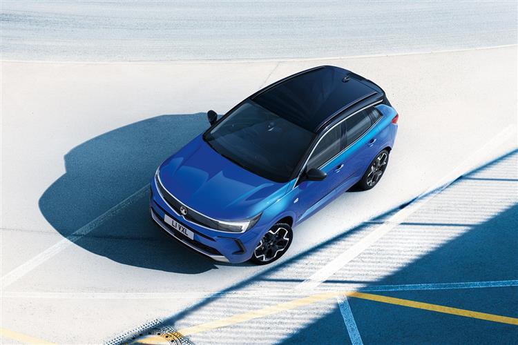 Vauxhall Grandland 1.6 Hybrid SRi 5dr Auto Hatchback