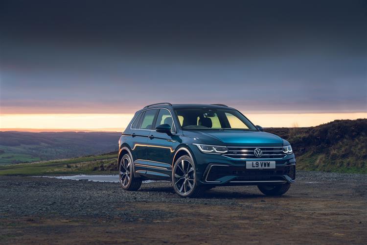Volkswagen TIGUAN ESTATE SPECIAL EDITION 2.0 TDI Active 5dr DSG