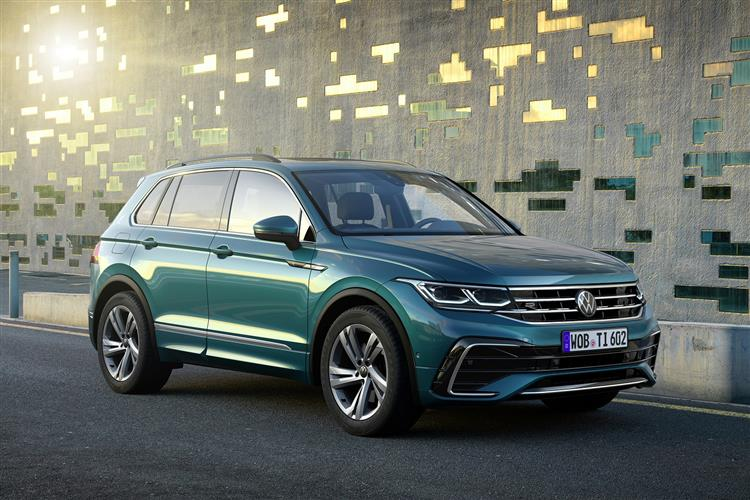 Volkswagen TIGUAN DIESEL ESTATE 2.0 TDi 150 SEL 5dr
