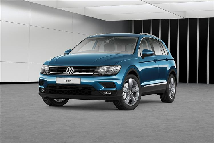 Volkswagen TIGUAN DIESEL ESTATE 2.0 TDi 150 Match 5dr