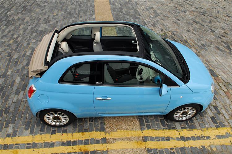 Fiat 500 500C - 1.2 Lounge 2dr image 6