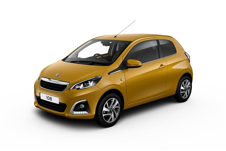Peugeot 108 1.0 Collection 5dr image 13