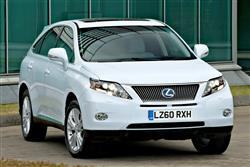 New Lexus RX 450h (2009 - 2012) review