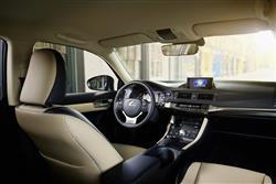 New Lexus CT200h F Sport review
