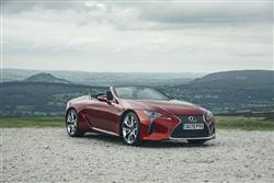Car review: Lexus LC Convertible