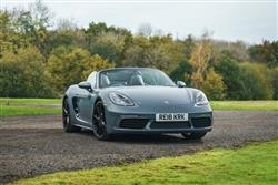 Car review: Porsche 718 Boxster
