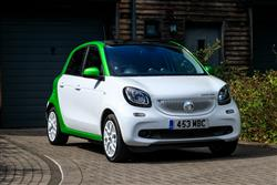 Car review: smart EQ forfour