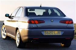 Car review: Alfa Romeo 166 (1999 - 2005)