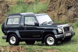 New Daihatsu Sportrak (1989 - 1998) review