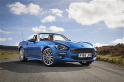 Car review: Fiat 124 Spider [Type 348] (2016 - 2020)