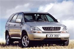 New Lexus RX 300 (2000 - 2003) review