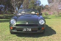 Car review: MG RV8 (1992 - 1995)