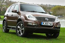 Car review: SsangYong Rexton (2015 - 2017)