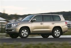 Car review: Toyota Land Cruiser V8
