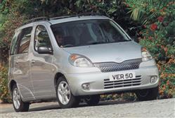 Car review: Toyota Yaris Verso (1999 - 2008)