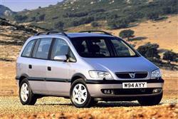 Car review: Vauxhall Zafira (1999 - 2005)