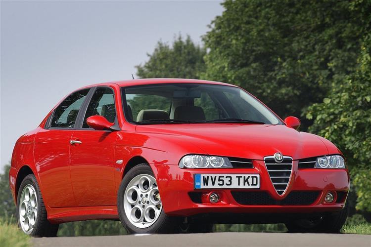 New Alfa Romeo 156 (2003 - 2006) review