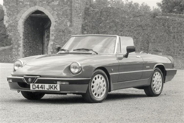 New Alfa Romeo Spider (1966 - 1993) review