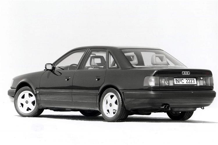 New Audi 100 (1983 - 1994) review