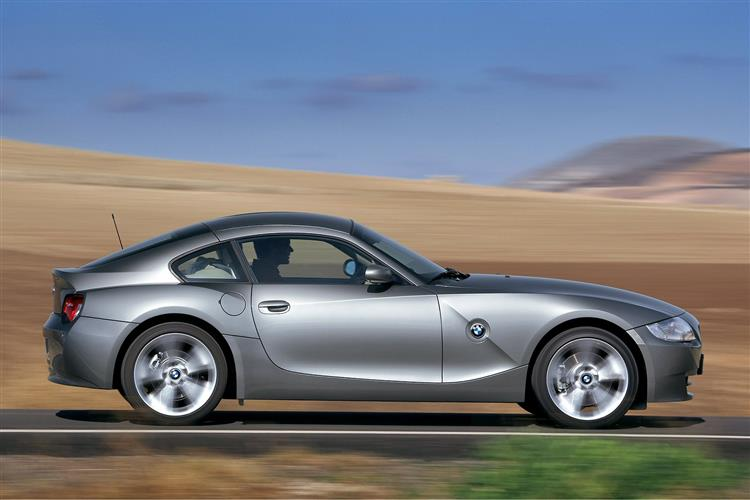 New BMW Z4 Coupe (2006 - 2009) review