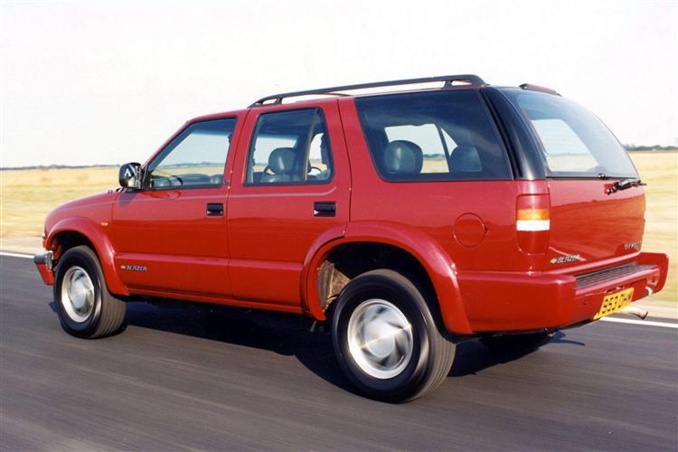 New Chevrolet Blazer  (1999 - 2002) review