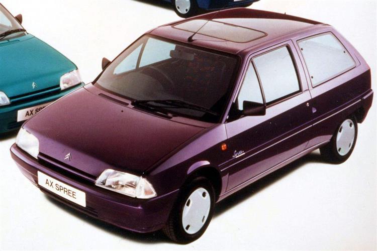 New Citroen AX (1987 - 1997) review