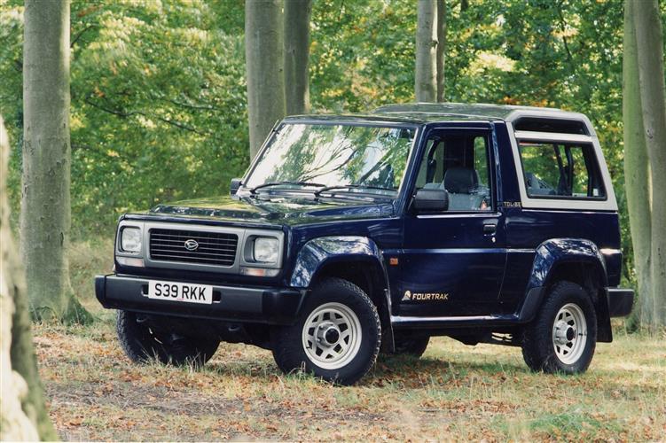 New Daihatsu Fourtrak (1984 - 2002) review