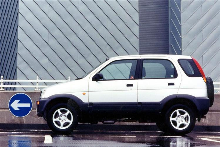 New Daihatsu Terios (1997 - 2006) review