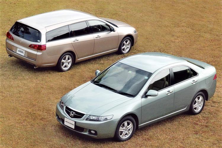 New Honda Accord (2002 - 2008) review