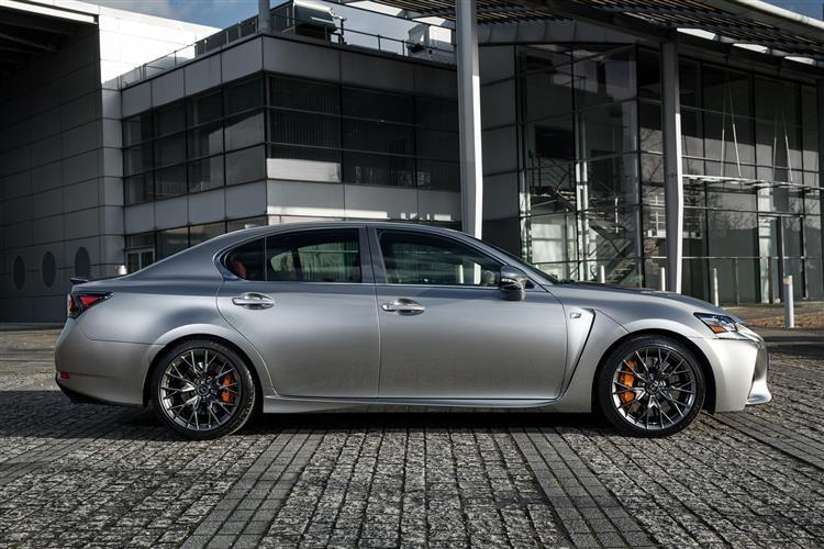 New Lexus GS F (2015 - 2018) review