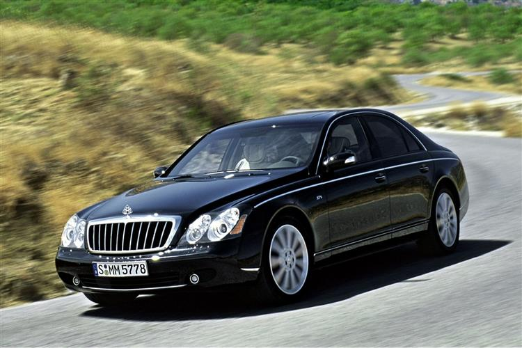 New Maybach 57 & 62 (2002 - 2014) review