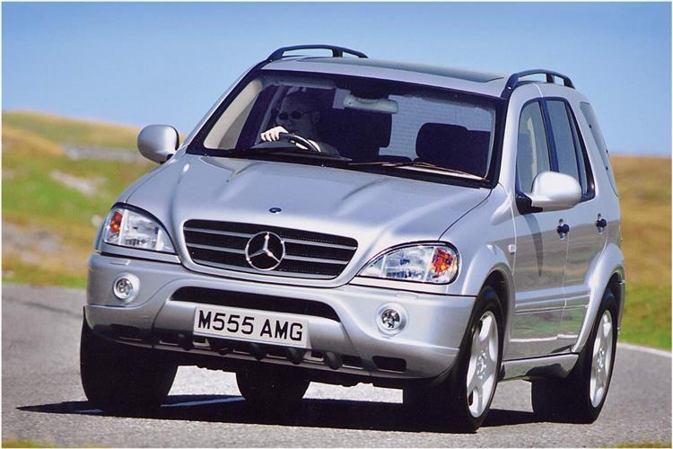 New Mercedes-Benz M-Class (1998 - 2005) review