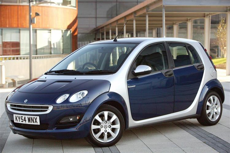New smart forfour (2004 - 2007) review