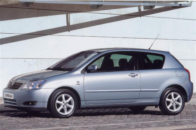 New Toyota Corolla (2001 - 2007) review
