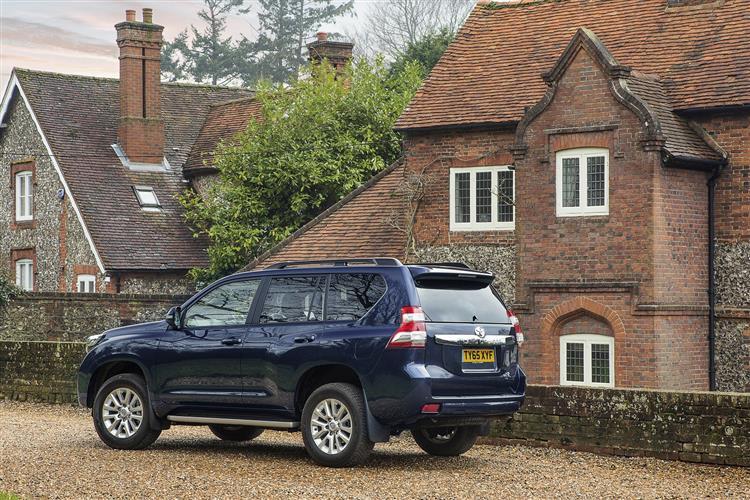 New Toyota Land Cruiser Light Duty Series J150 (2014-2018) review